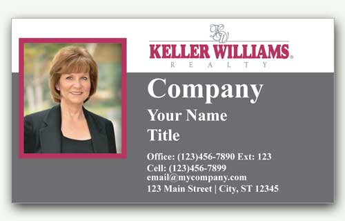 Business Card Keller Williams los angeles
