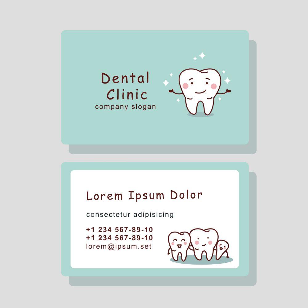 Dental Business Card Design