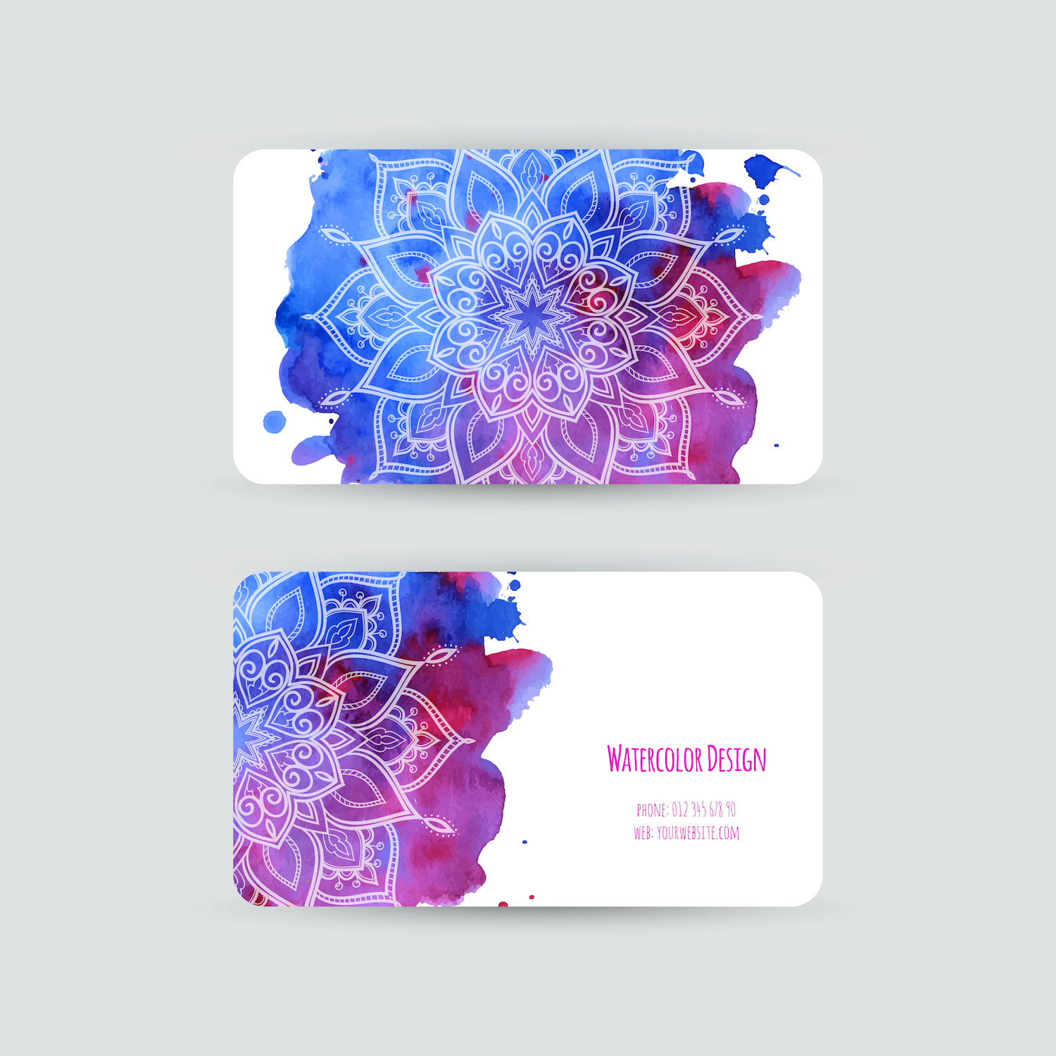 Fashion Business Card Design Branding Los Angeles