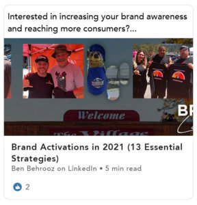 Brand Activations in 2021 (13 Essential Strategies)
