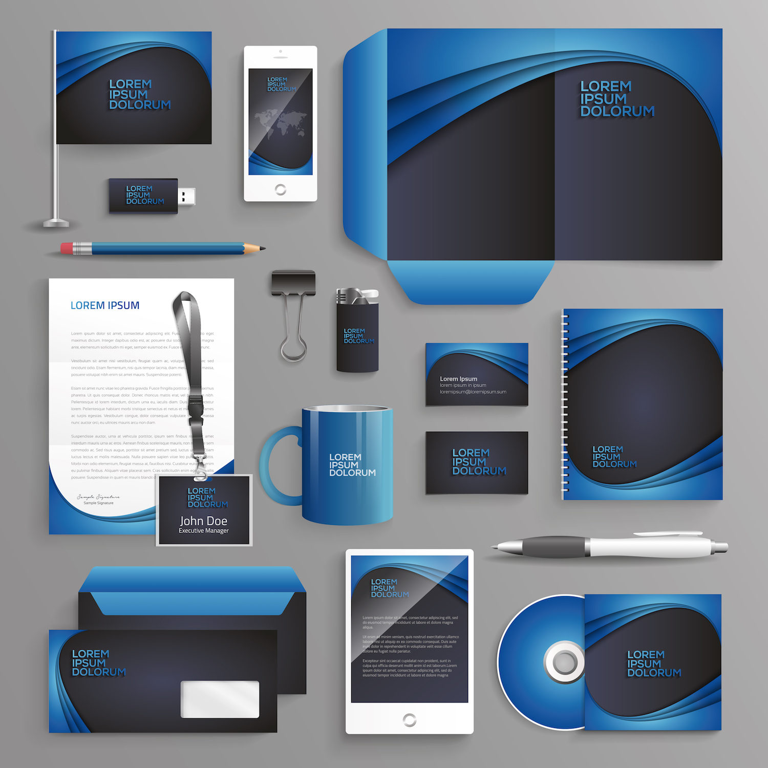 Medical Stationery Design