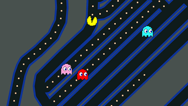 Pac-Man takes over Google Maps
