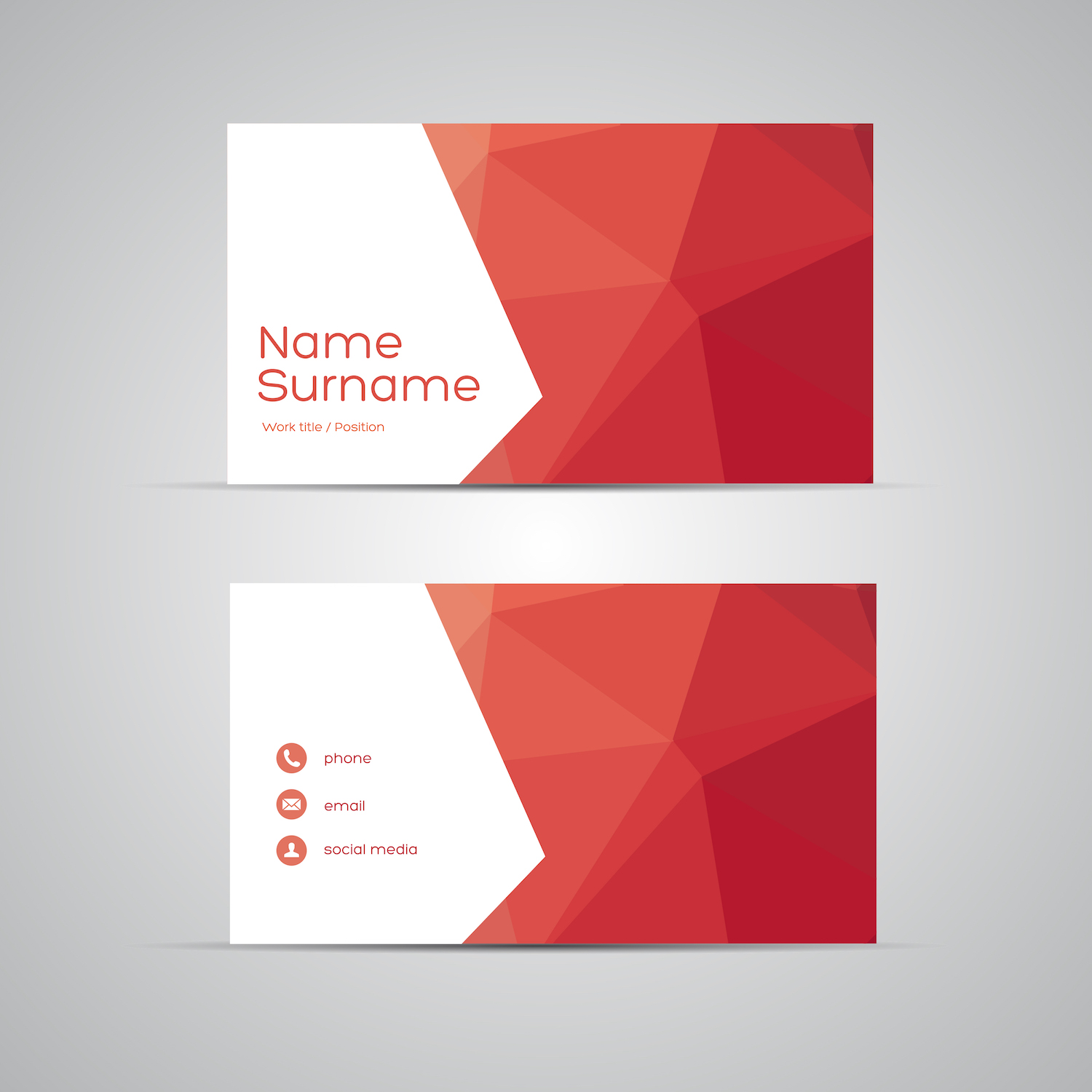 Pharmacy business card design branding los angeles for Postcard business cards