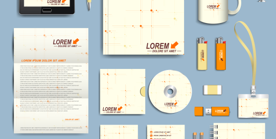 pharmacy stationery design