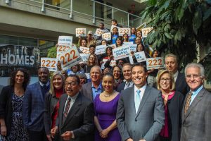Pledging 222 Units of Permanent Supportive Housing