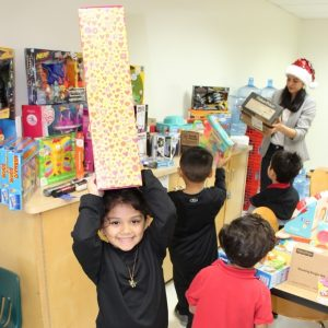 annual toy drive.