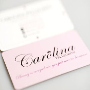 beauty influencer business cards