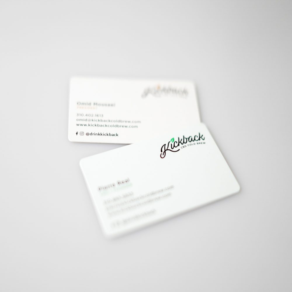 beverage industry business cards