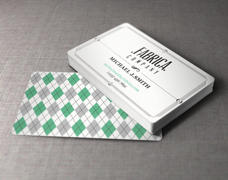 Business Card Design Custom Business Card