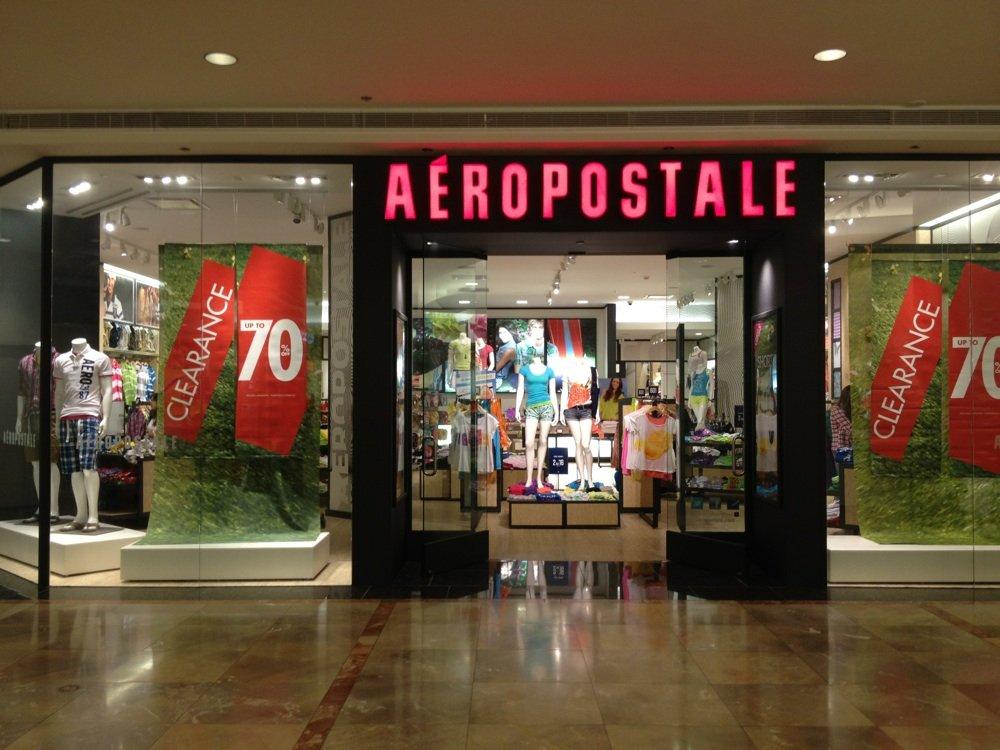 Image result for aeropostale storefront