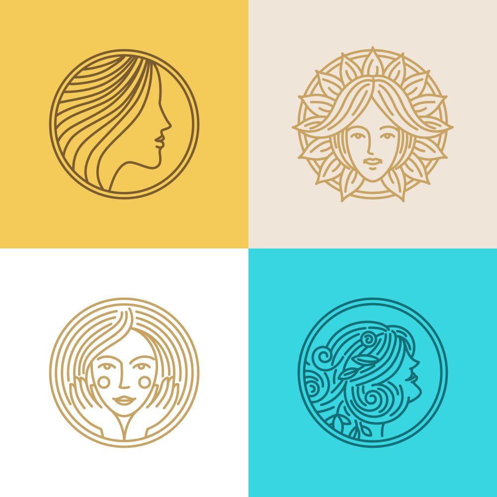 los angeles fashion logo design