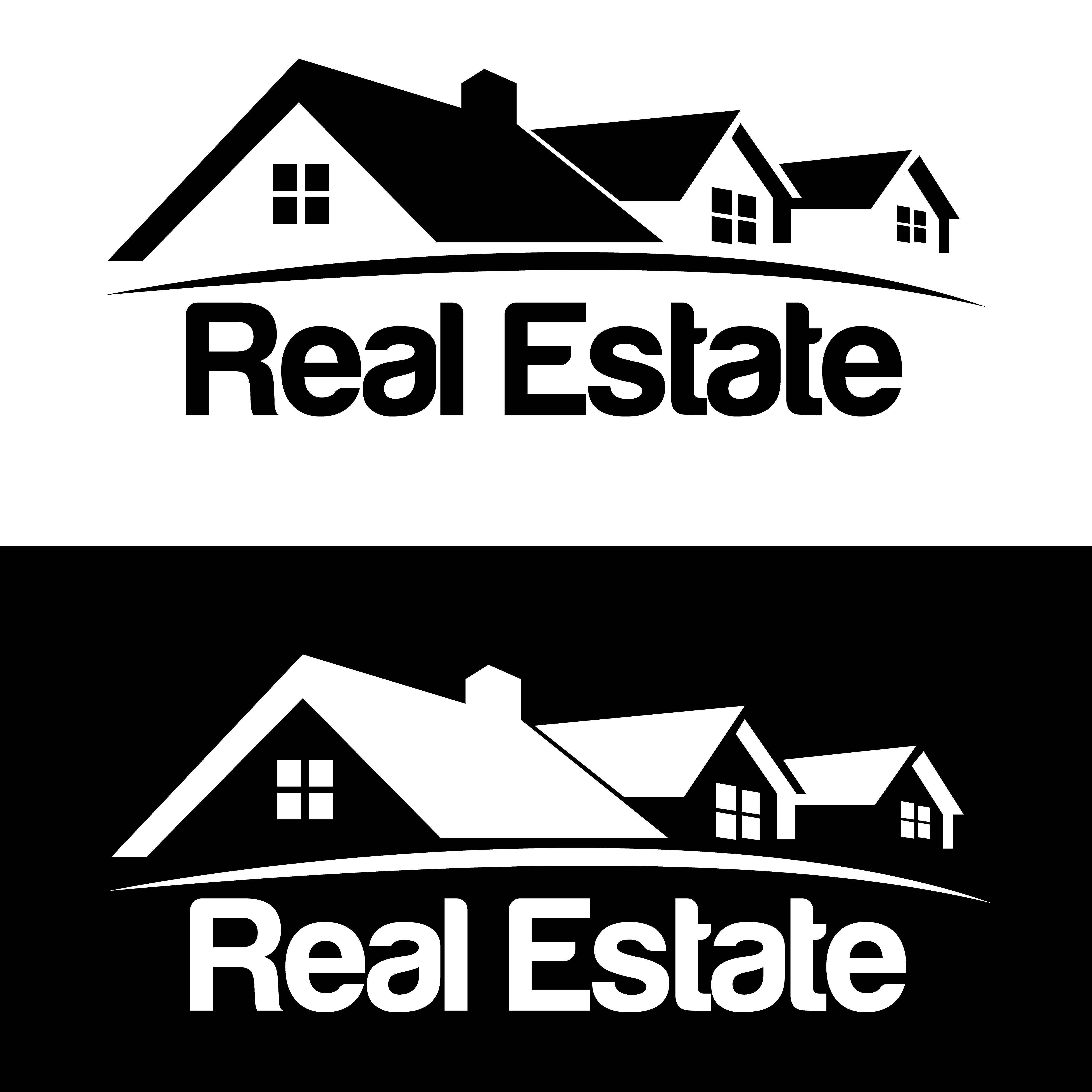los angeles Real Estate logo design