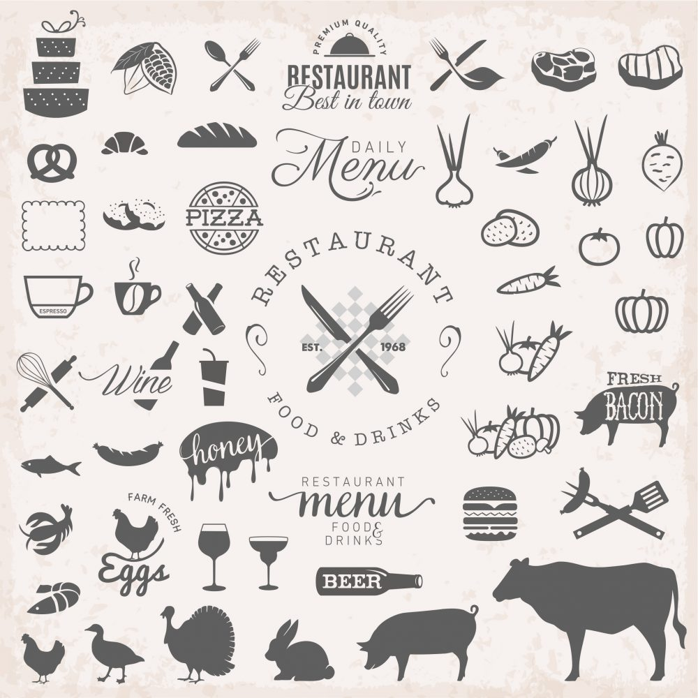 restaurant graphic design