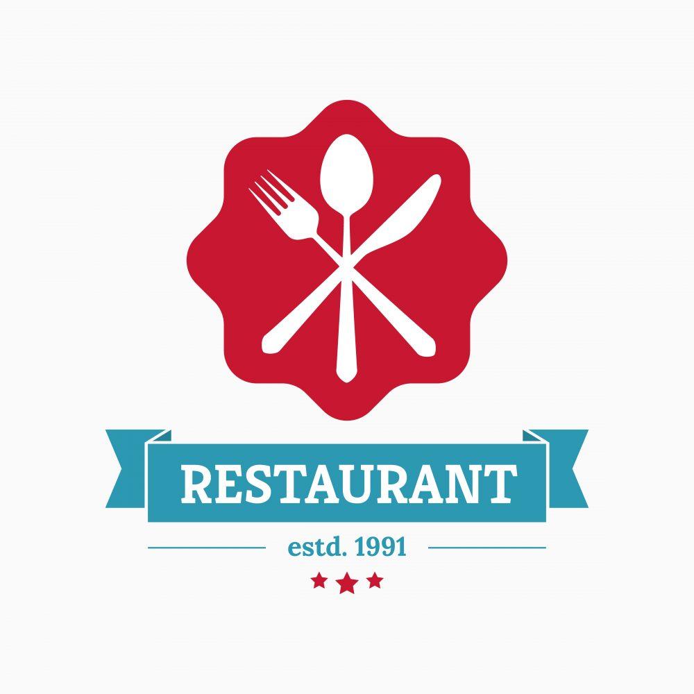 los angeles Restaurant logo design