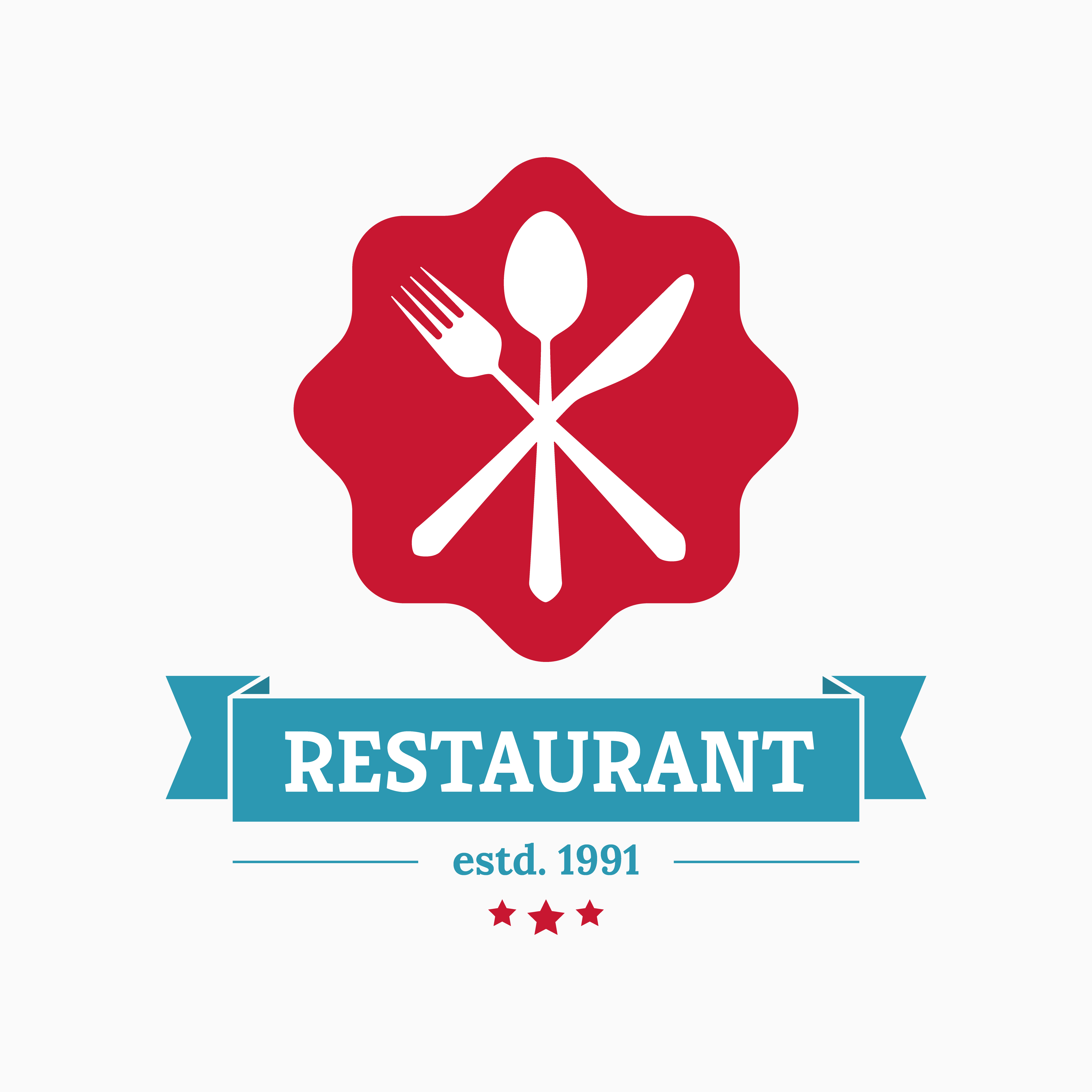 los angeles Restaurant logo design