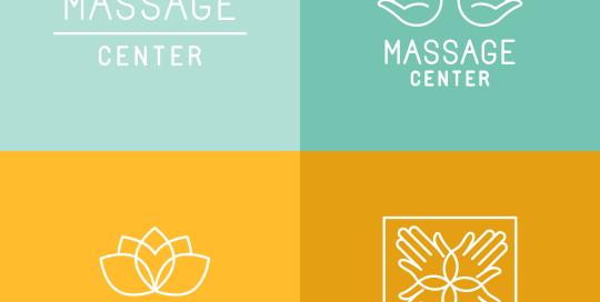 los angeles spa logo design
