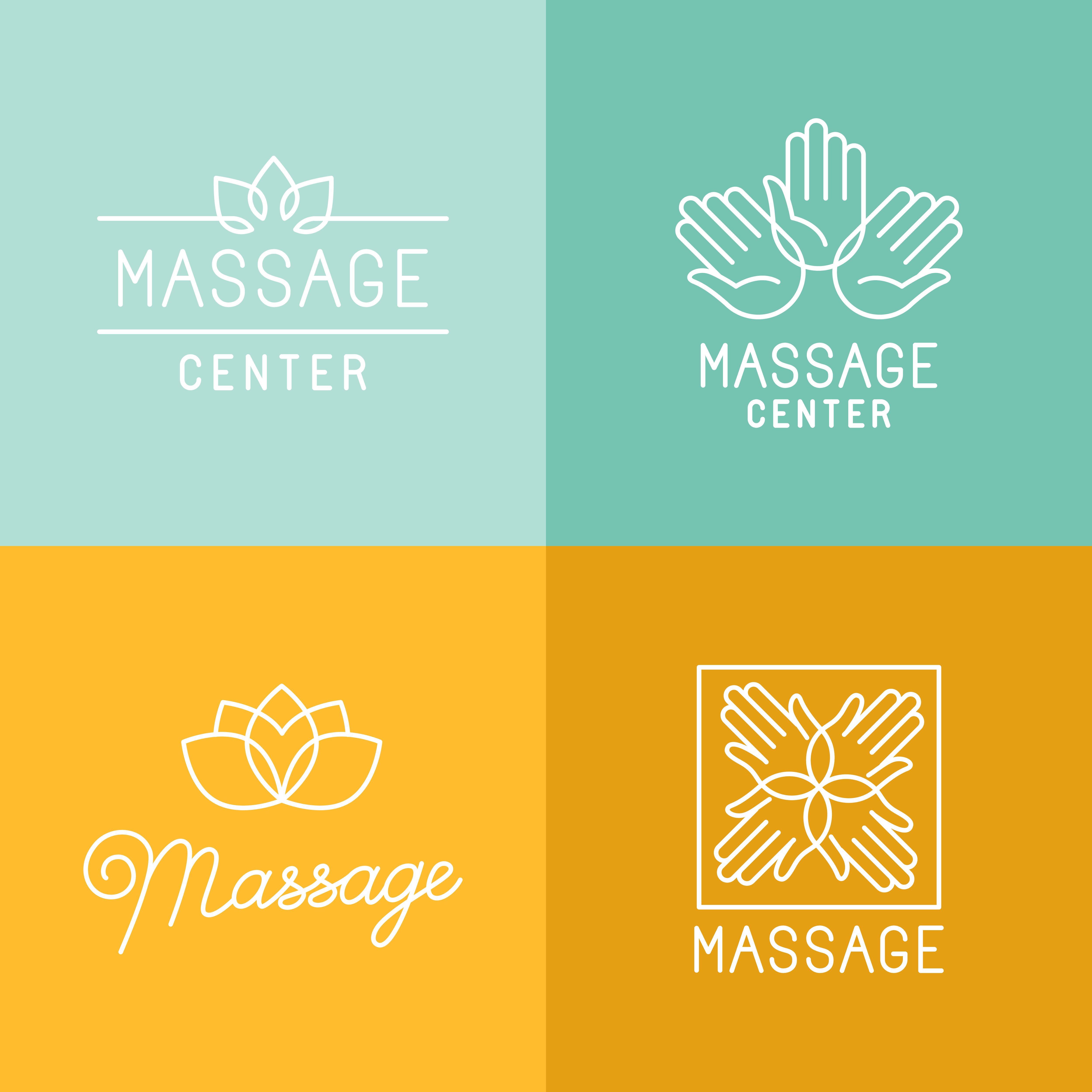 los angeles spa logo design